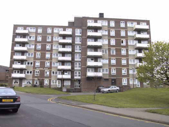 Figure 3: Sheffield Road Flats, Barnsley.