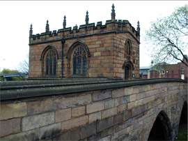 Figure 2: Medieval bridge chapel