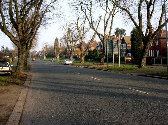 Figure 1: A street scene within the 'Herringthorpe and Moorgate Early 20th Century Suburbs' character area.