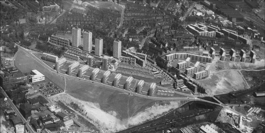 Figure 4: The Woodside / Burngreave Estate shortly after construction in the 1960s © SCC