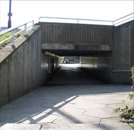 Figure 3: A surviving subway crossing under Charter Square © 2006 SYAS