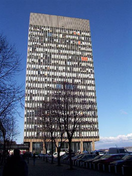 The infamous Arts Tower